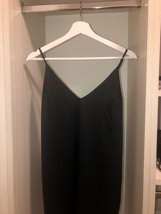 Urban Planet Black Slip Dress