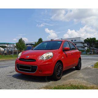 Nissan March Cheap Rental PHV/Personal
