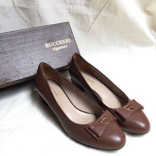 Buccheri brown heels