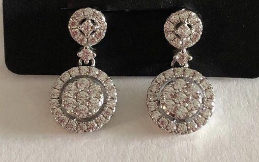 Italian pavè #style earrings