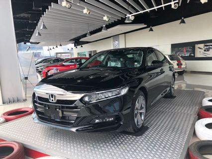 Open indent all new honda Accord 2019. Mesin 1.500cc a Turbo