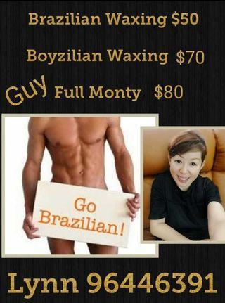 Lady Brazilian Waxing / Guy Full Monty Waxing