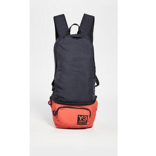 不敗時尚經典 ! Y3 精品頂級多功能 ~ 後背包、腰包~設計師限量款!超值~