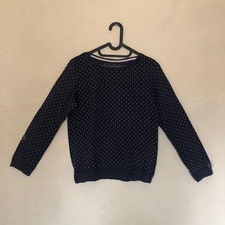 Sweater pullkadot