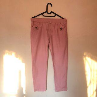 Celana baby pink