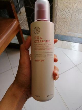 The faceshop collagen and pomegranate