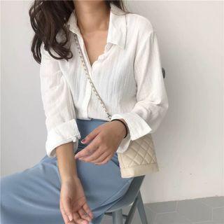韓版 白襯衫