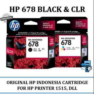 Tinta Printer HP 678 (SET)
