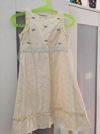 Cotton Dress 4-5y