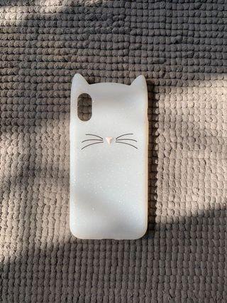 Iphone Xs casing case cat