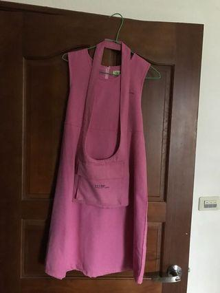 專櫃童裝🐰粉紅無袖綁帶洋裝🎀