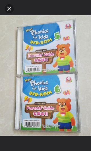 Phonics for kids DVD Rom 5 & 6