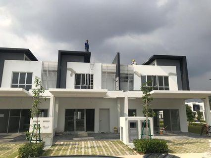 2 storey terrace house at CyberSouth For Rent