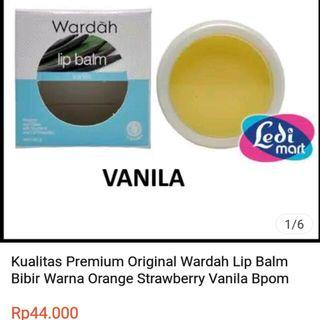 Lip balm Vanilla by Wardah