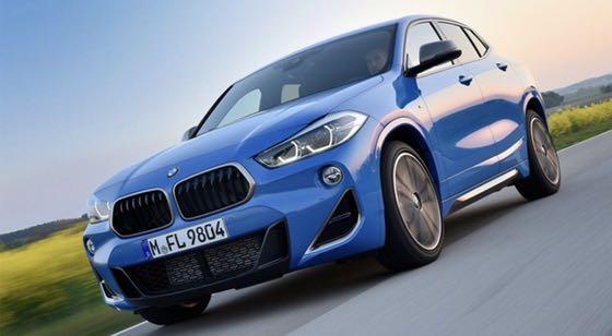 2019 BMW X2. 18i sport M套件