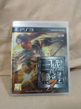 (Free Shipping)Ps3 Games 三国真无双 7