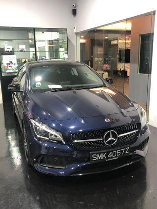 Brand New Mercedes CLA 180 AMG(2019)