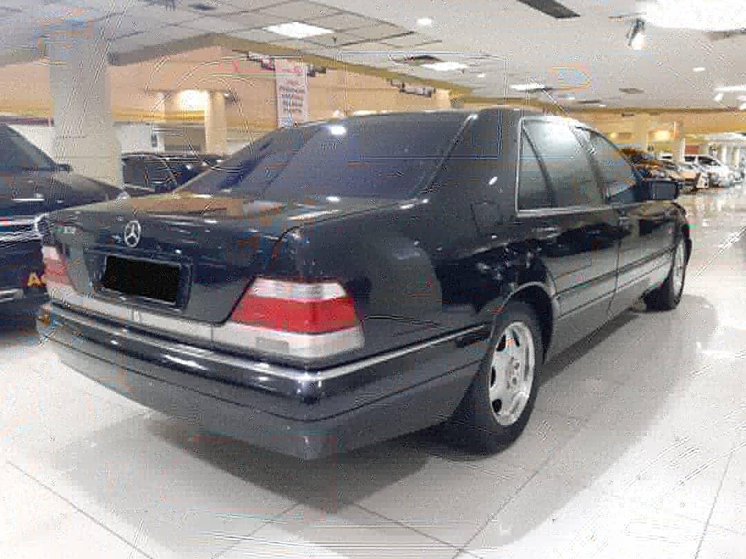 1998 Mercedes Benz S-320 L Automatic.Kaca Anti Peluru-Double Glass.KM 120.xxx.Unit Kondisi PRIMA.Nopol B-DKI