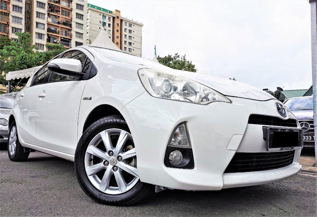2012 Toyota PRIUS C 1.5 (HYBRID) (A) 1OWNER TIPTOP