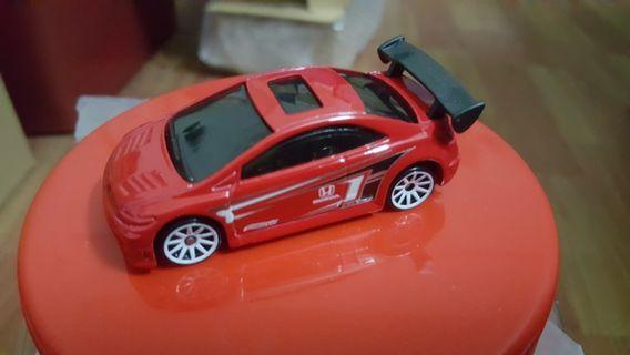 Hotwheels Mystery Series Honda Civic Si (Red) unrivet loose *racing *JDM *sporty