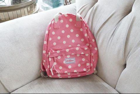Authentic Cath Kidston Backpack Polka Dot