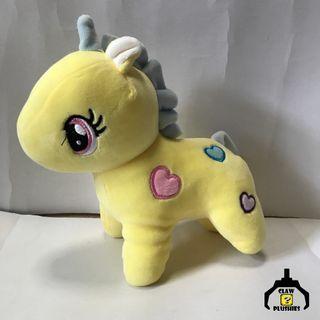 Yellow Unicorn Stuffed Toy