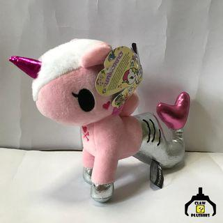 Pink Unicorn Stuffed Toy