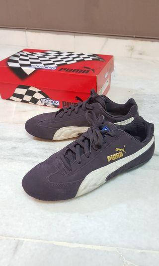 Puma Sparco speed cat racing shoes