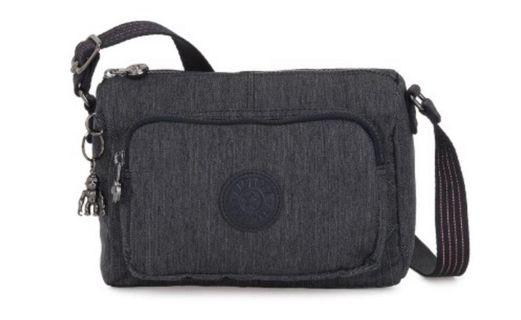 Authentic Kipling Active Denim Crossbody Bag