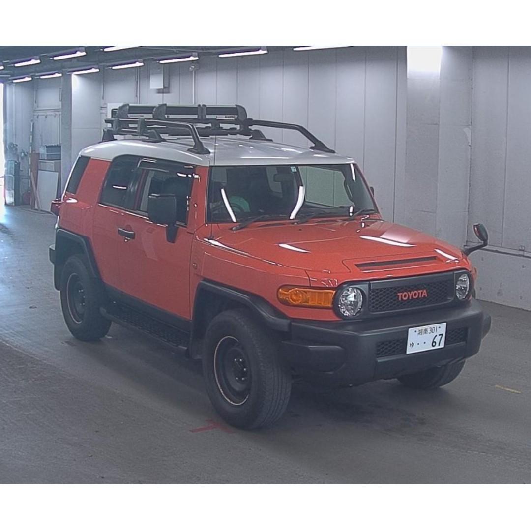 日本汽車代購 2014 TOYOTA FJ CRUISER