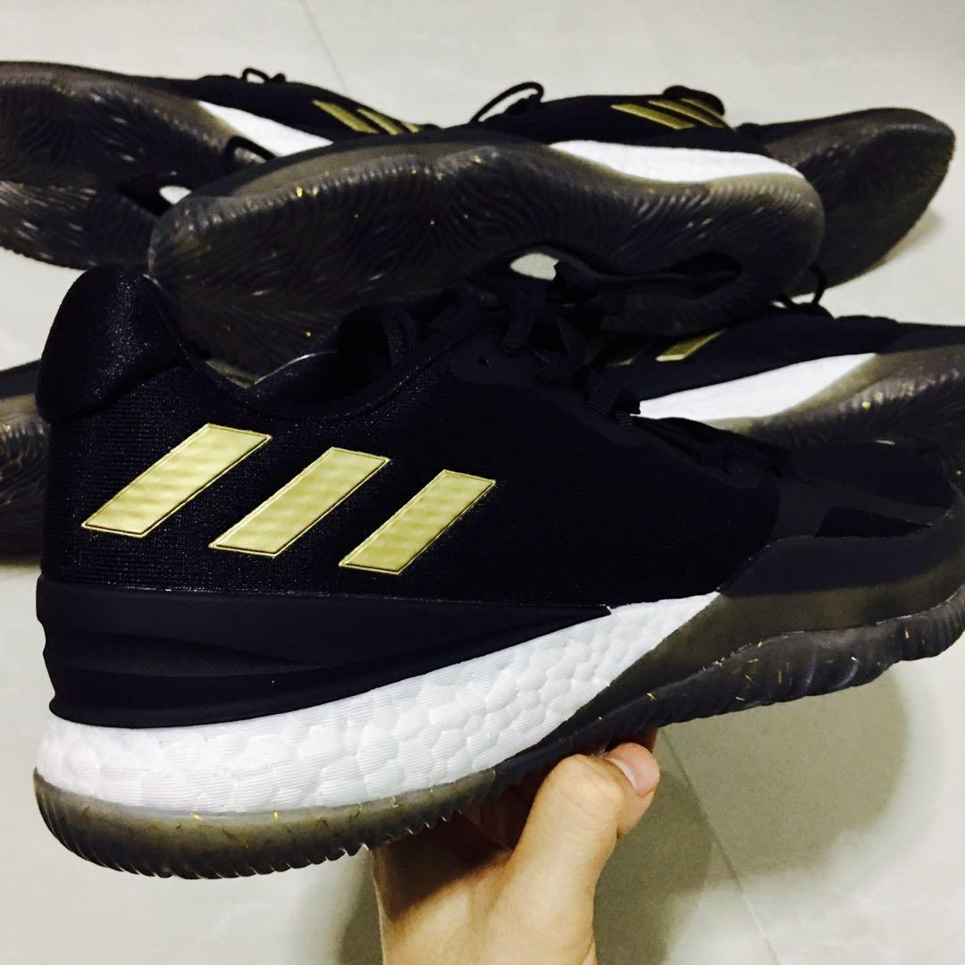 adidas Crazylight Boost 2018 Shoes Black | adidas Malaysia