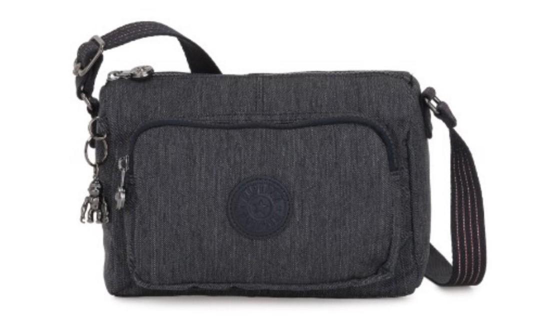 Authentic Kipling Active Denim Crossbody Bag