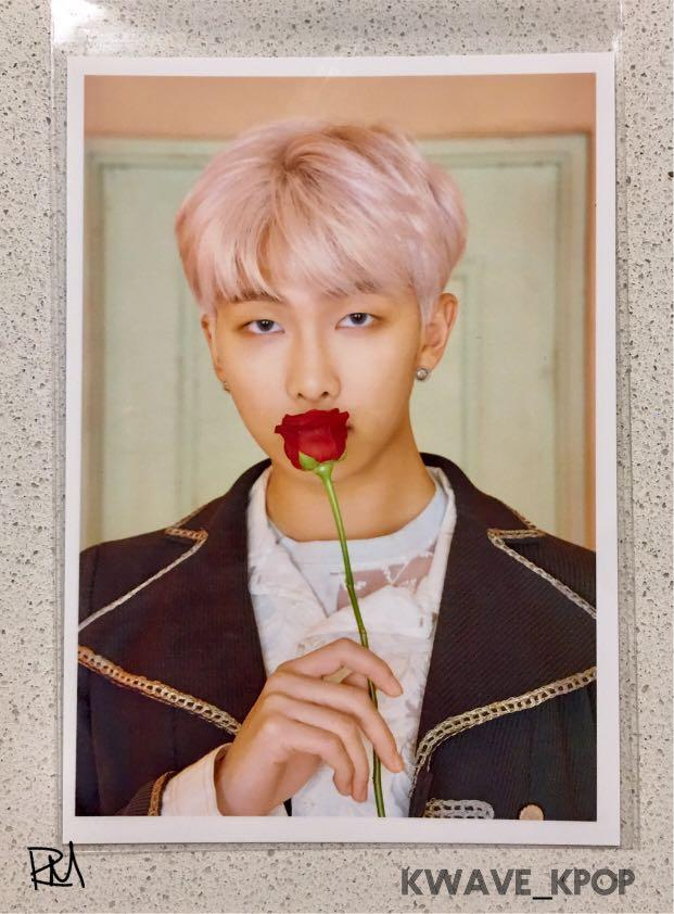 BTS 방탄소년단 MAP OF SOUL : PERSONA {RM} PHOTOGRAPH PRINTED BY FUJI FILM (MADE IN KOREA)