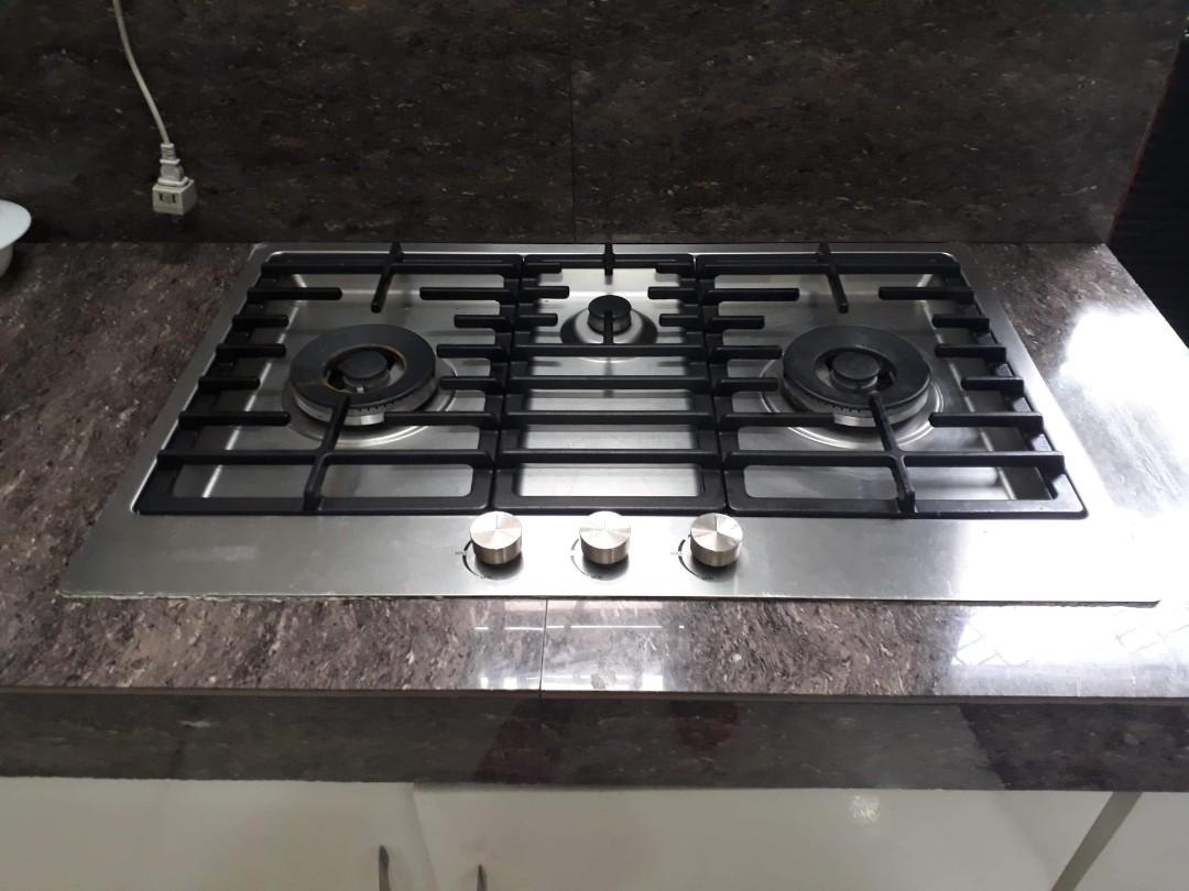 Built In Counter Top Stove On Carou