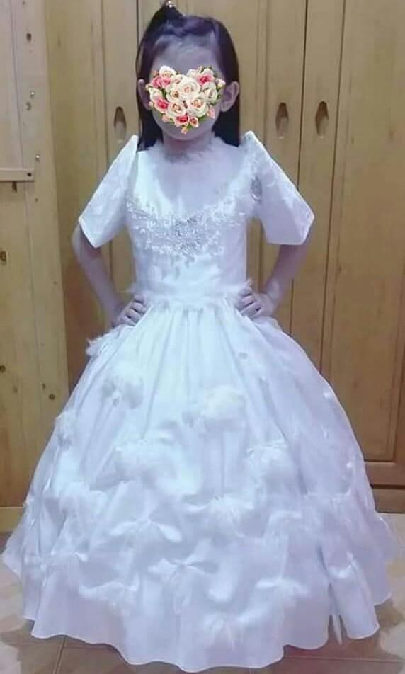 Customized Filipiniana Ball Gown For Kids Babies Kids Others On Carousell