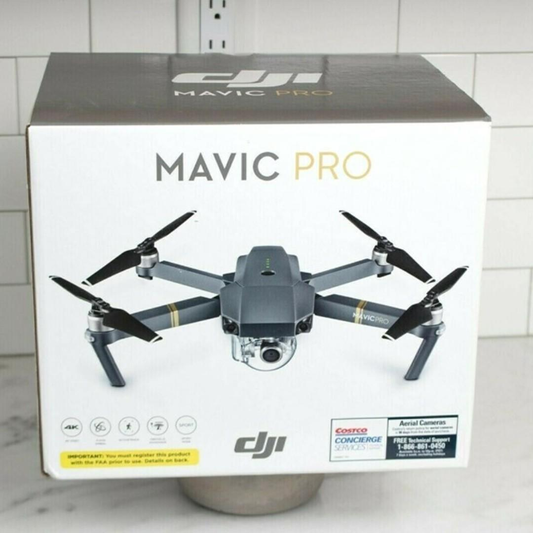 Dji Mavic Pro 4K Video Drone Alpine White Fly More Combo Limited Edition