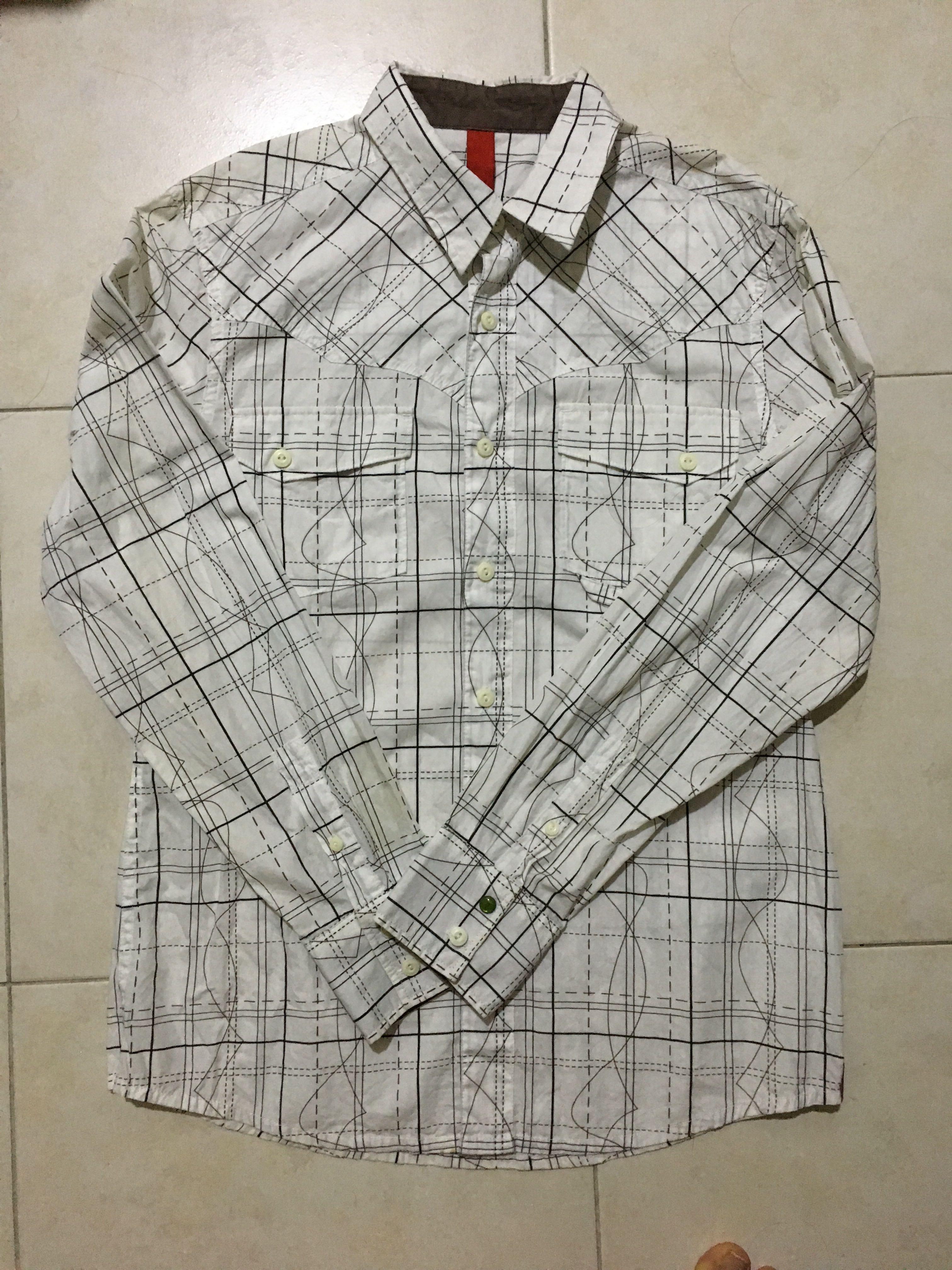 Esprit EDC Men Button Casual Shirt