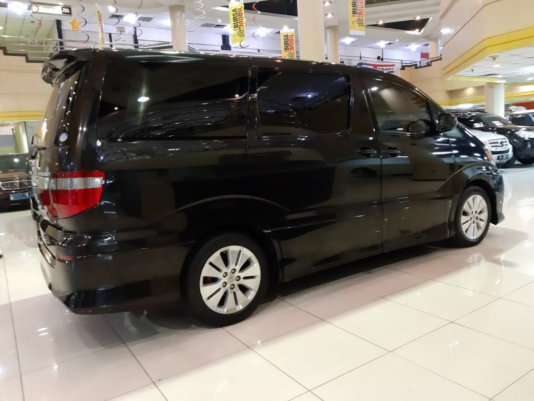 for sale 2004 Toyota ALPHARD 2.4 ASG Automatic.Ori Spek 2CAMERA Depan, 1CAMERA Belakang.Double SUNROOF-PANORAMIK.Nopol B-DKI