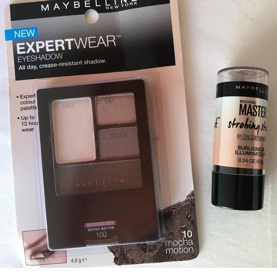 FREE POST Maybelline BULK eyeshadow FitMe powder strobing stick illuminator
