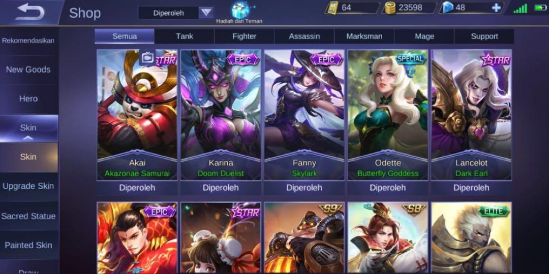 GG ACCOUNT MOBILE LEGENDS FOR SALEu203c️ on Carousell