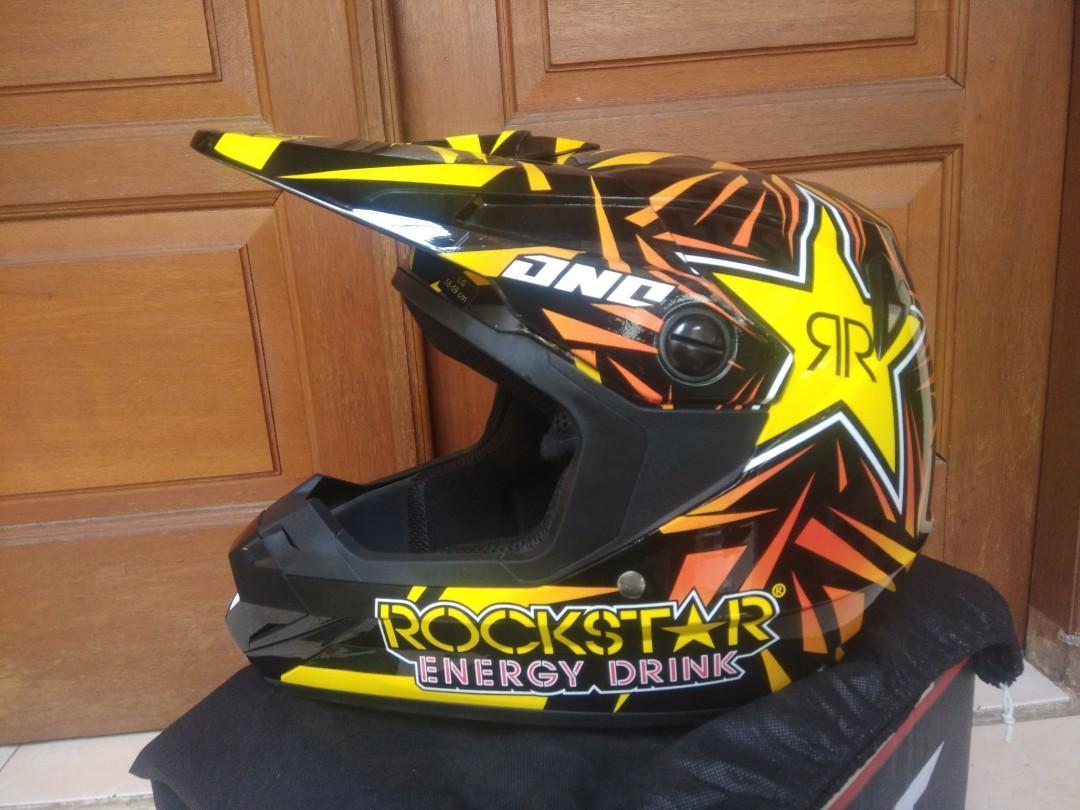 Helm Cross ONE Rockstar