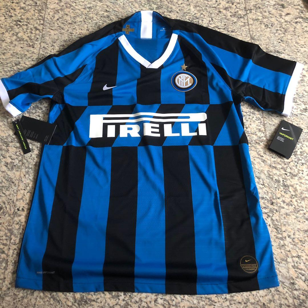 quality design 04d6e 0ed86 Inter Milan 2019/20 Player Version Jersey, Sports, Sports ...