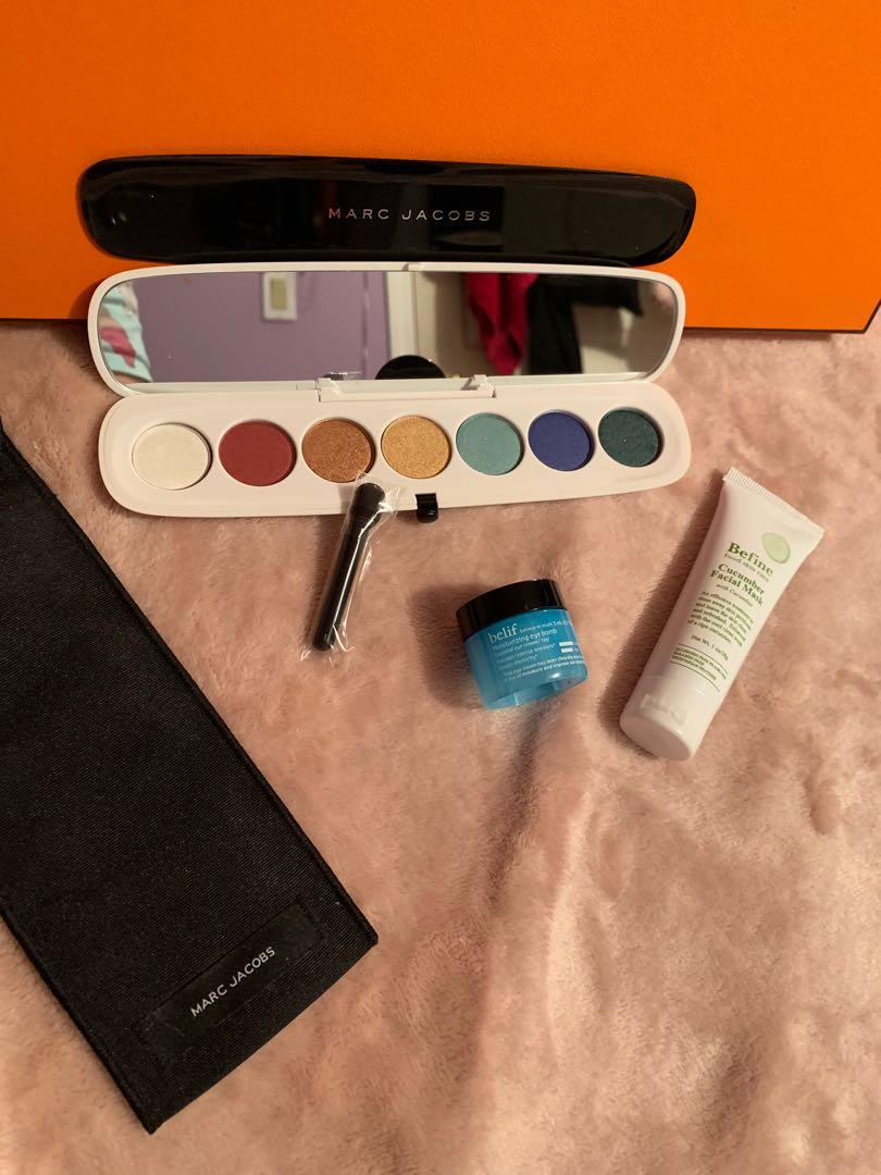 Brand New Marc Jacobs Beauty/ Style Eye Con 7 Plush Eyeshadow (The Siren) (obo)