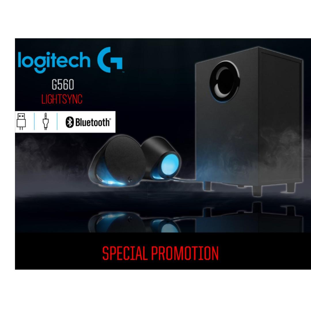 LOGITECH G560 LIGHTSYNC SPEAKER on Carousell