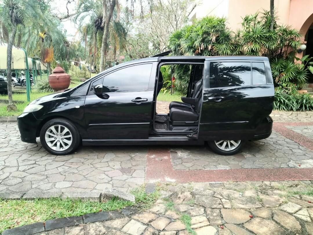 Mazda 5 built up jepang..7seat mpv sunroof ,electric sliding door