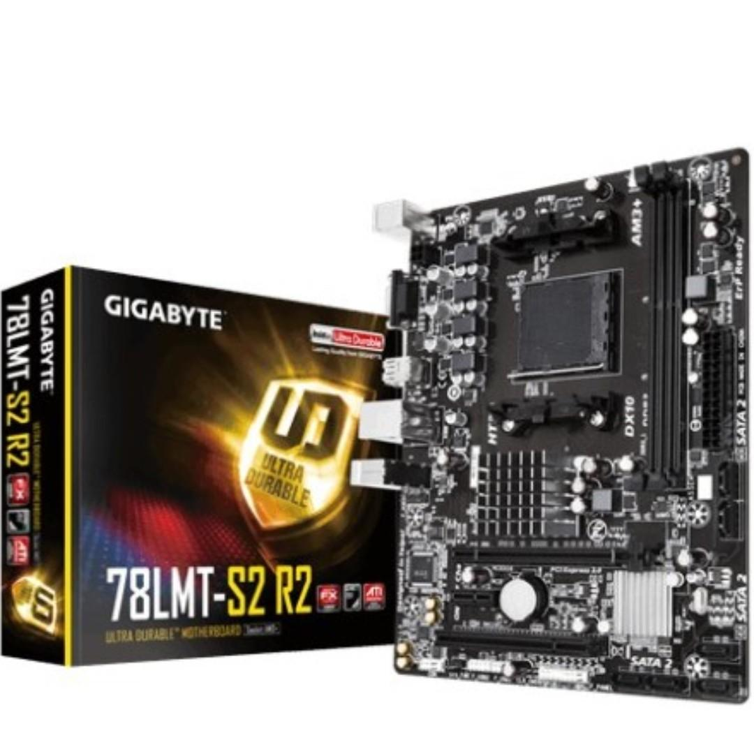 Motherboard Gigabyte GA-78LMT-S2 R2 AMD AM3+ FX Socket on