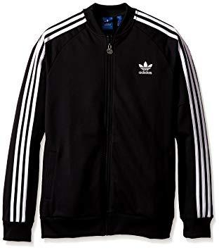New Adidas Black Tracktop Jacket