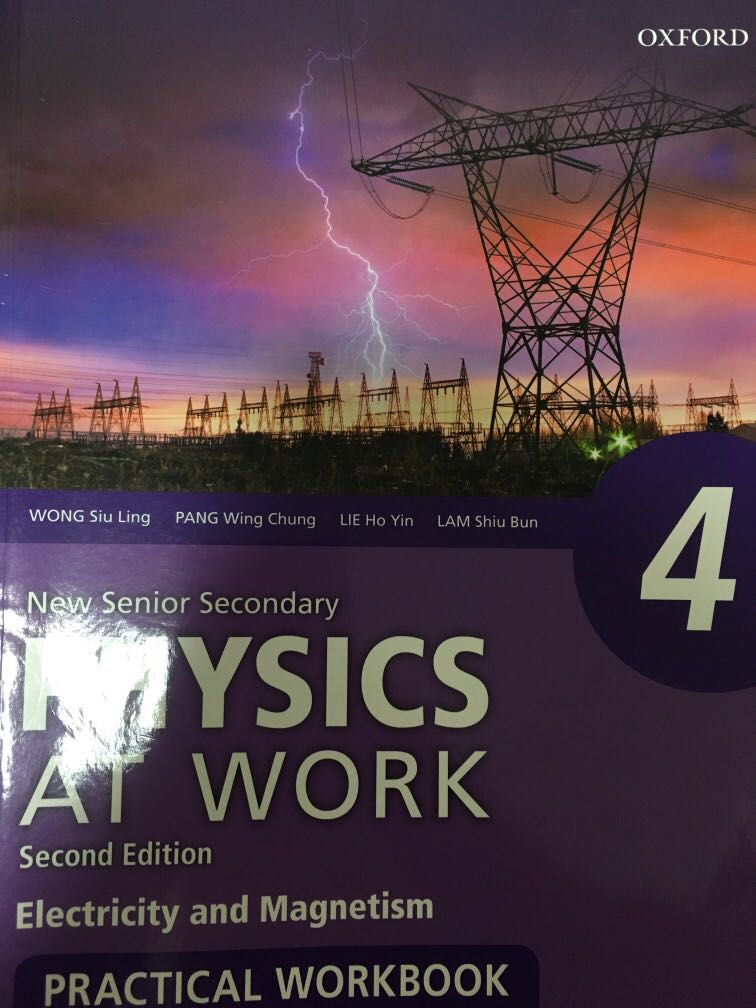 NSS Physics At Work Electricity And Magnetism Practical Workbook