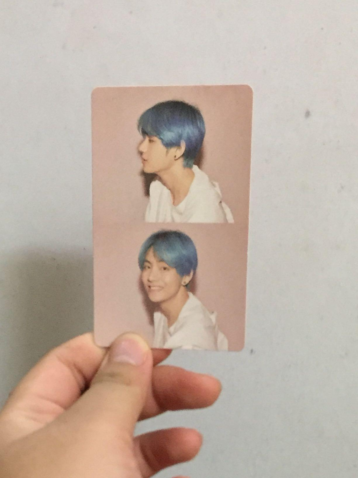 OFFICIAL BTS PHOTOCARDS MAP OF THE SOUL:PERSONA VERSION 1 TAEHYUNG