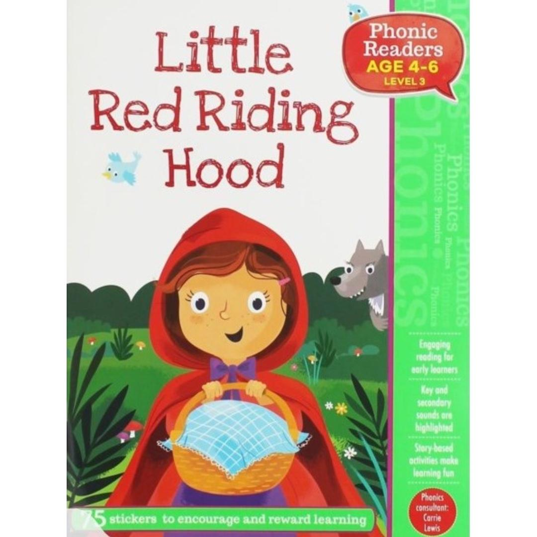 Phonic Readers Level 3 - Little Red Riding Hood | Children's Book | Early Readers